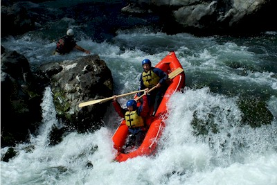 Rafting on the Rangtikei River