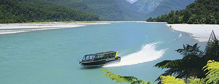 Haast River Safari, New Zealand