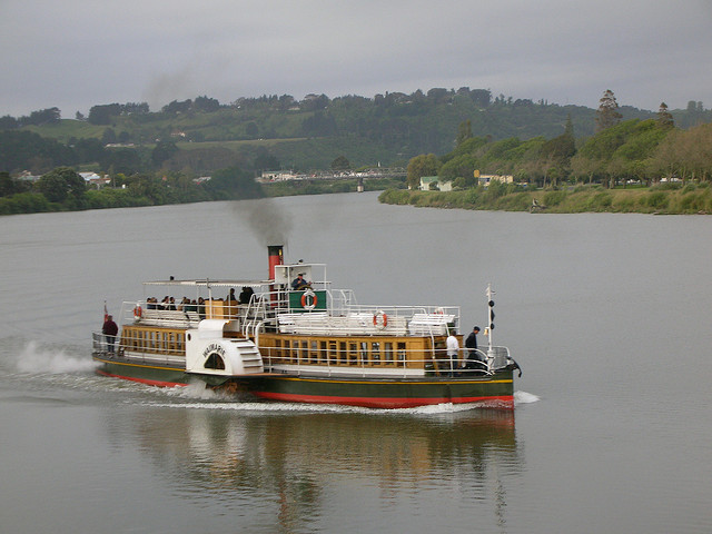 Paddle Steamer on the Whanganui River